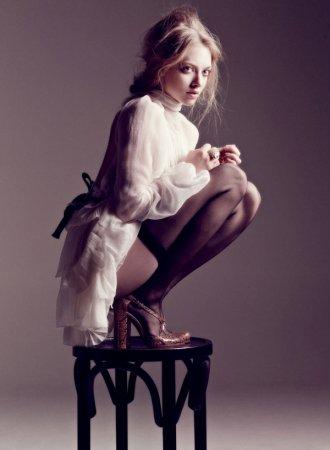 Amanda Seyfried в журнале Interview (2011)