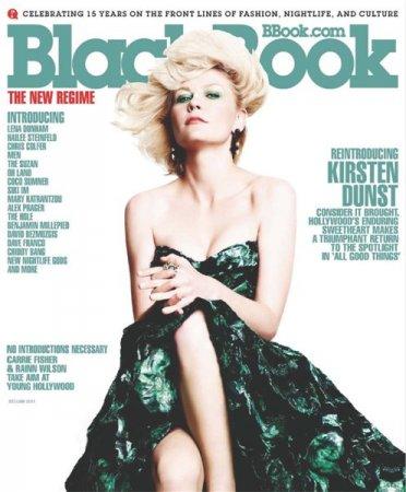 Kirsten Dunst в журнале BlackBook (декабрь-январь 2011)