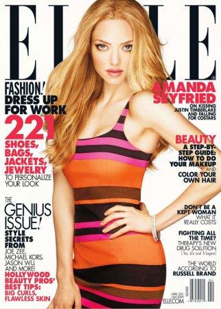 Amanda Seyfried в журнале Elle US (апрель 2011)