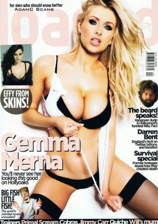 Gemma Merna в журнале Loaded (апрель 2011)