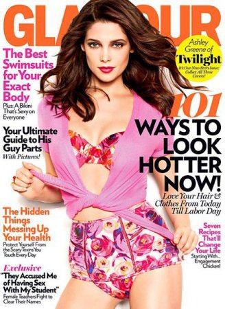 Ashley Greene в журнале Glamour US (апрель 2011)