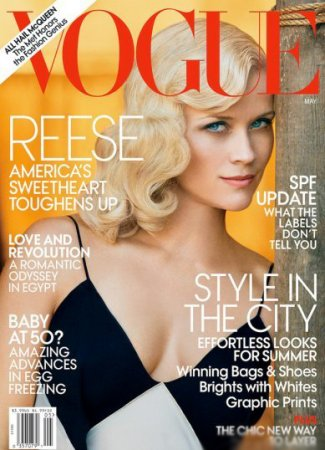Reese Witherspoon в журнале Vogue US (май 2011)