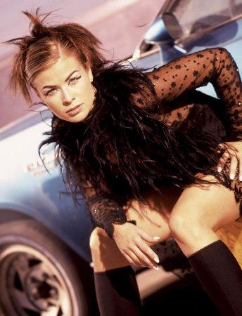 Carmen Electra в фотосессии Jeff Katz (1997)