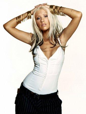 Christina Aguilera в журнала Marie Claire (2003)