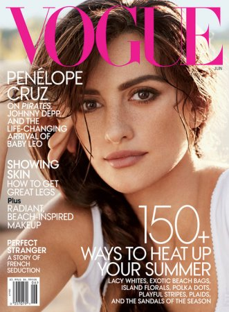 Penélope Cruz в журнале Vogue US (июнь 2011)
