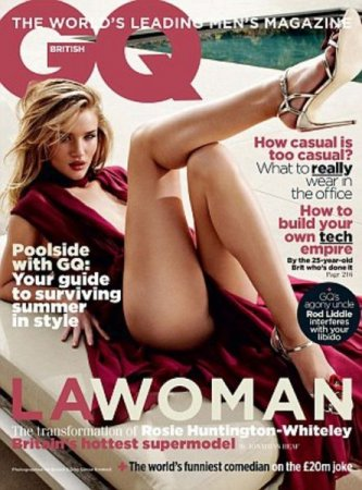 Rosie Huntington-Whiteley в журнале GQ (июль 2011)