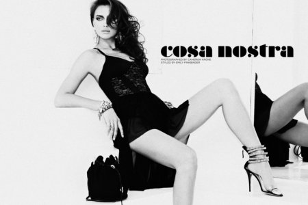 Irina Shayk для сайта StyleCaster (июнь 2011)