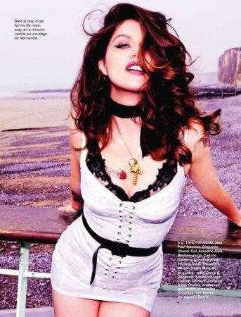 Laetitia Casta в журнале Glamour France (июль 2011)