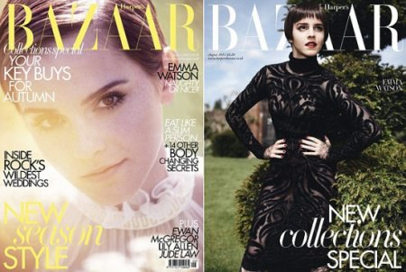 Emma Watson в журнале Harper's Bazaar (август 2011)