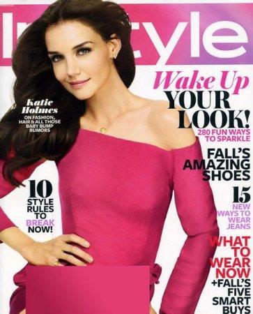 Katy Holmes в журнале InStyle (август 2011)