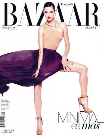 Alessandra Ambrosio в журнале Harper's Bazaar Spain (февраль 2011)