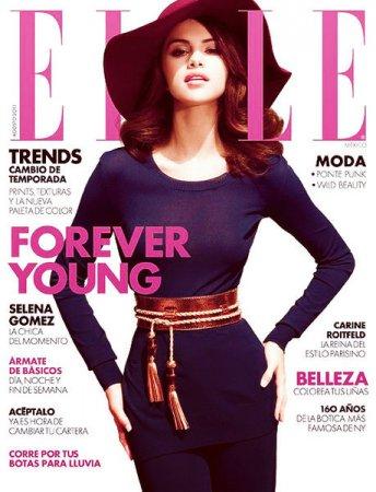 Selena Gomez в журнале Elle Mexico (август 2011)