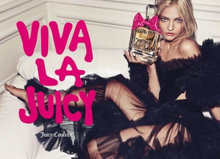 Sasha Pivovarova для Juicy Couture (2011)
