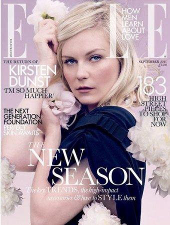 Kirsten Dunst в журнале Elle (сентябрь 2011)