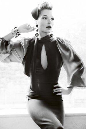 Kate Moss в журнале Vogue UK (август 2011)