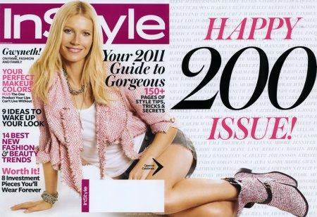 Gwyneth Paltrow в журнале InStyle Russia (май 2011)