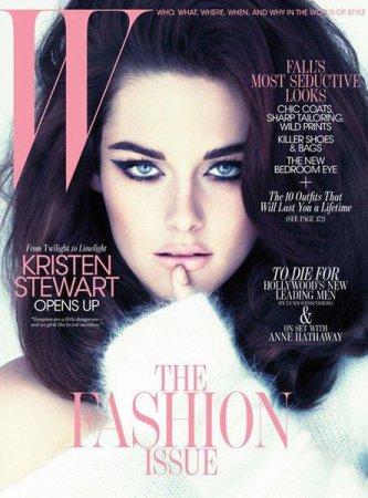Kristen Stewart в журнале W (сентябрь 2011)