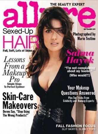 Salma Hayek в журнале Allure (сентябрь 2011)