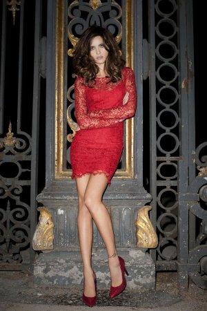 Isabeli Fontana для Mango (осень 2011)