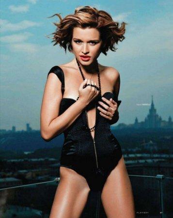 Ксения Бородина в журнале Playboy (октябрь 2011)