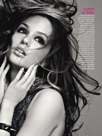 Leighton Meester в журнале Glamour Russia (октябрь 2011)