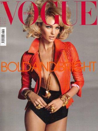 Candice Swanepoel в журнале Vogue Italia (февраль 2011)