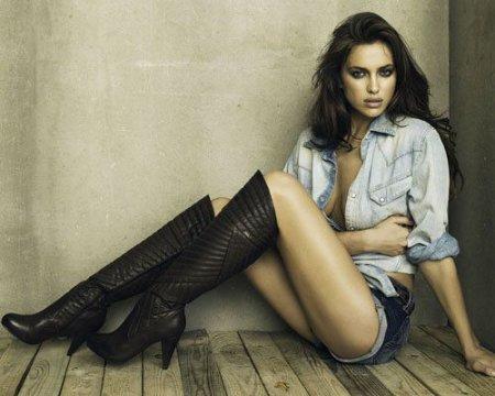Irina Shayk для XTI Footwear (зима 2011)