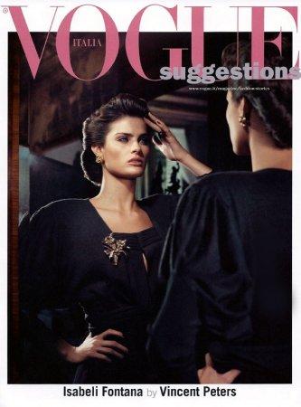 Isabeli Fontana в журнале Vogue Italia (сентябрь 2011)