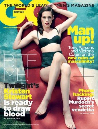 Kristen Stewart в журнале GQ British (ноябрь 2011)