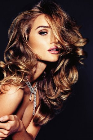 Rosie Huntington-Whiteley в журнале Vogue Germany (ноябрь 2011)