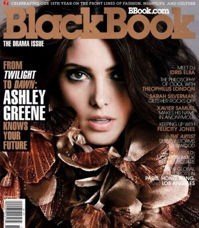 Ashley Greene в журнале BlackBook (ноябрь 2011)