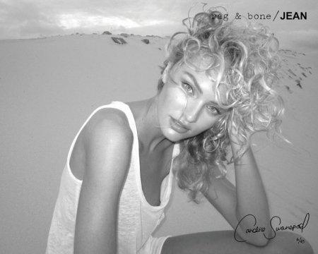 Candice Swanepoel для Rag & Bone's DIY (осень 2011)
