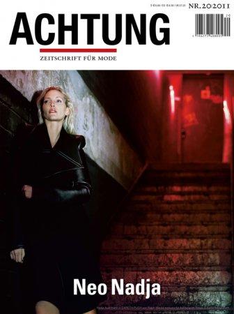 Модель с самыми длинными ногами снялась для журнала Achtung