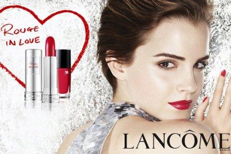 Эмма Уотсон в рекламе Lancôme