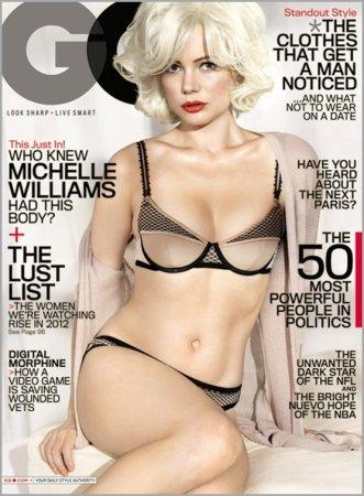 Мишель Уильямс для журнала GQ