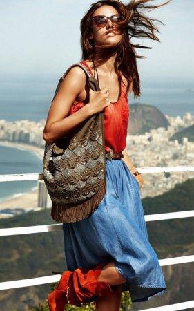 Алессандра Амброзио снялась для Hugo Boss Orange Spring/Summer 2012