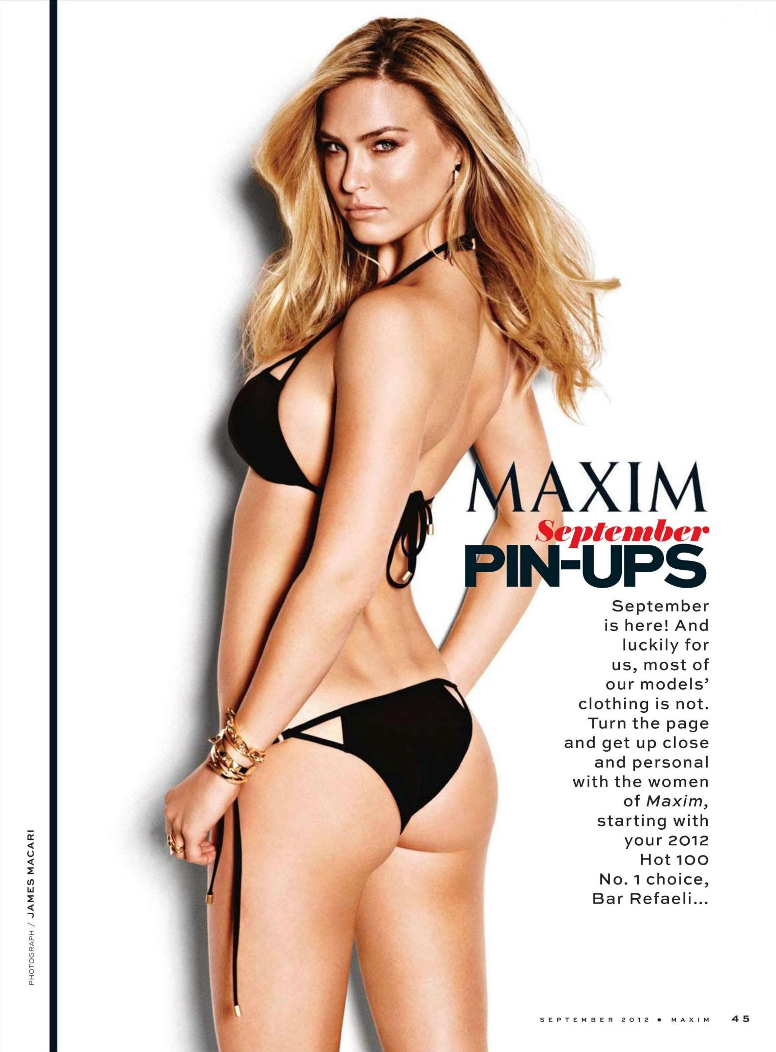 Читать далее: Бар Рафаэли для Maxim Magazine милла йовович